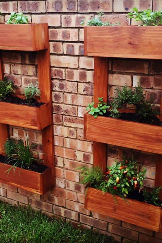 Wall Mounted Flower Boxes